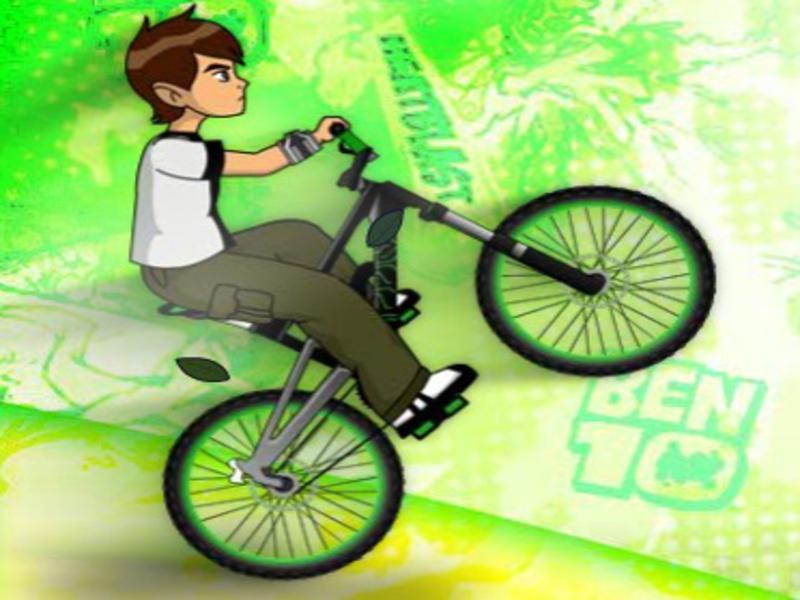 Bisikletçi Ben10